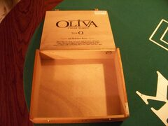 Oliva Serie O Collectible Wood Cigar Box